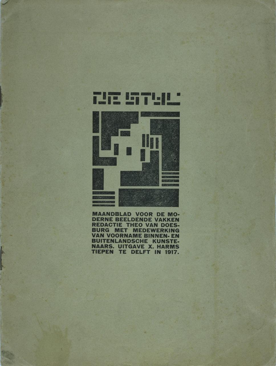 """Tijdschrift """"De Stijl"""""""