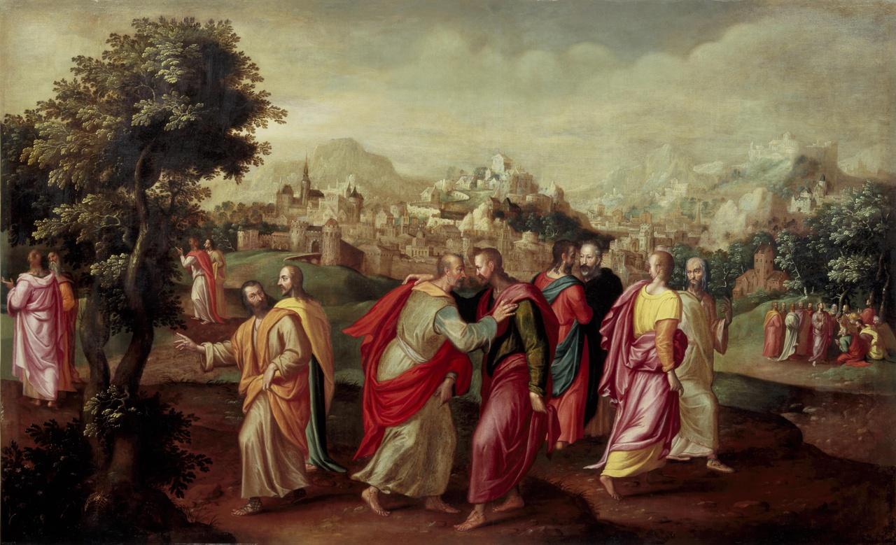 De uitzending van de twaalf discipelen