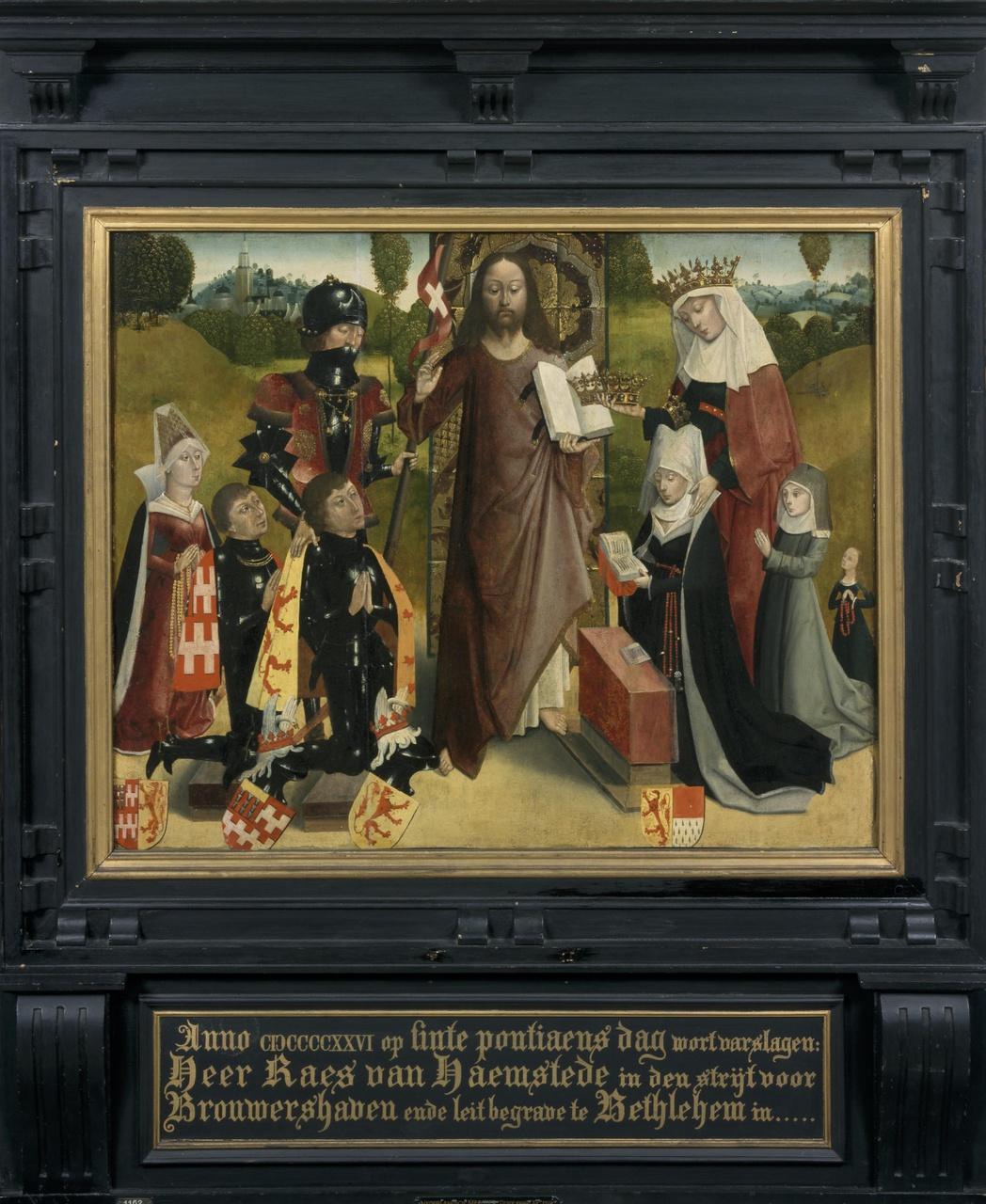 Memorietafel van Heer Raas van Haamstede