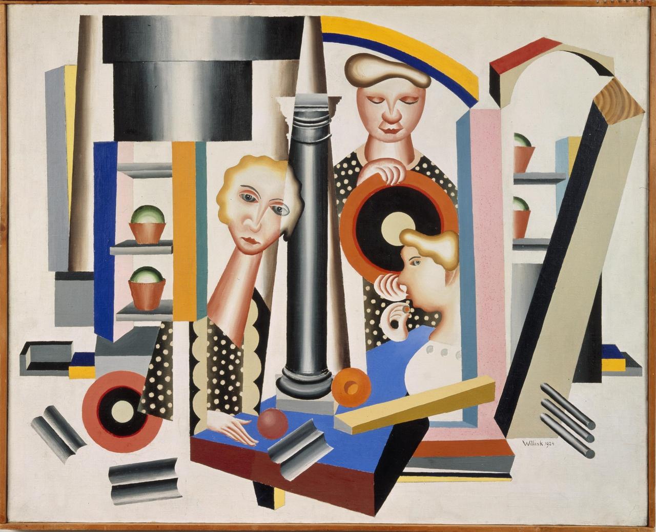 Compositie met 3 vrouwen