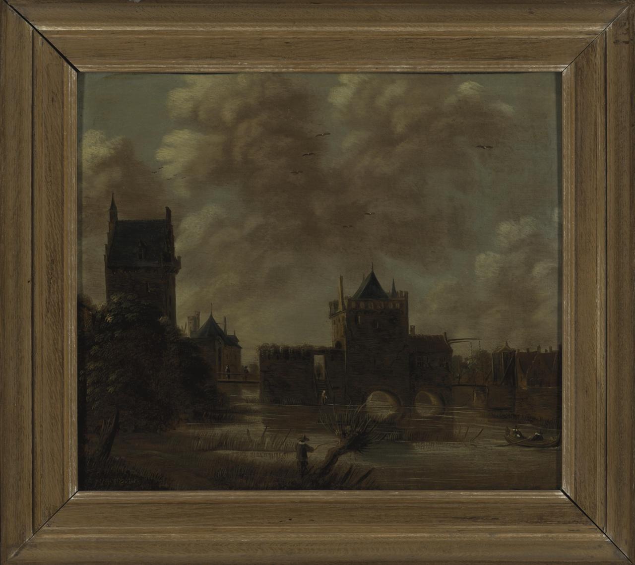 De Wittevrouwenpoort en omgeving te Utrecht