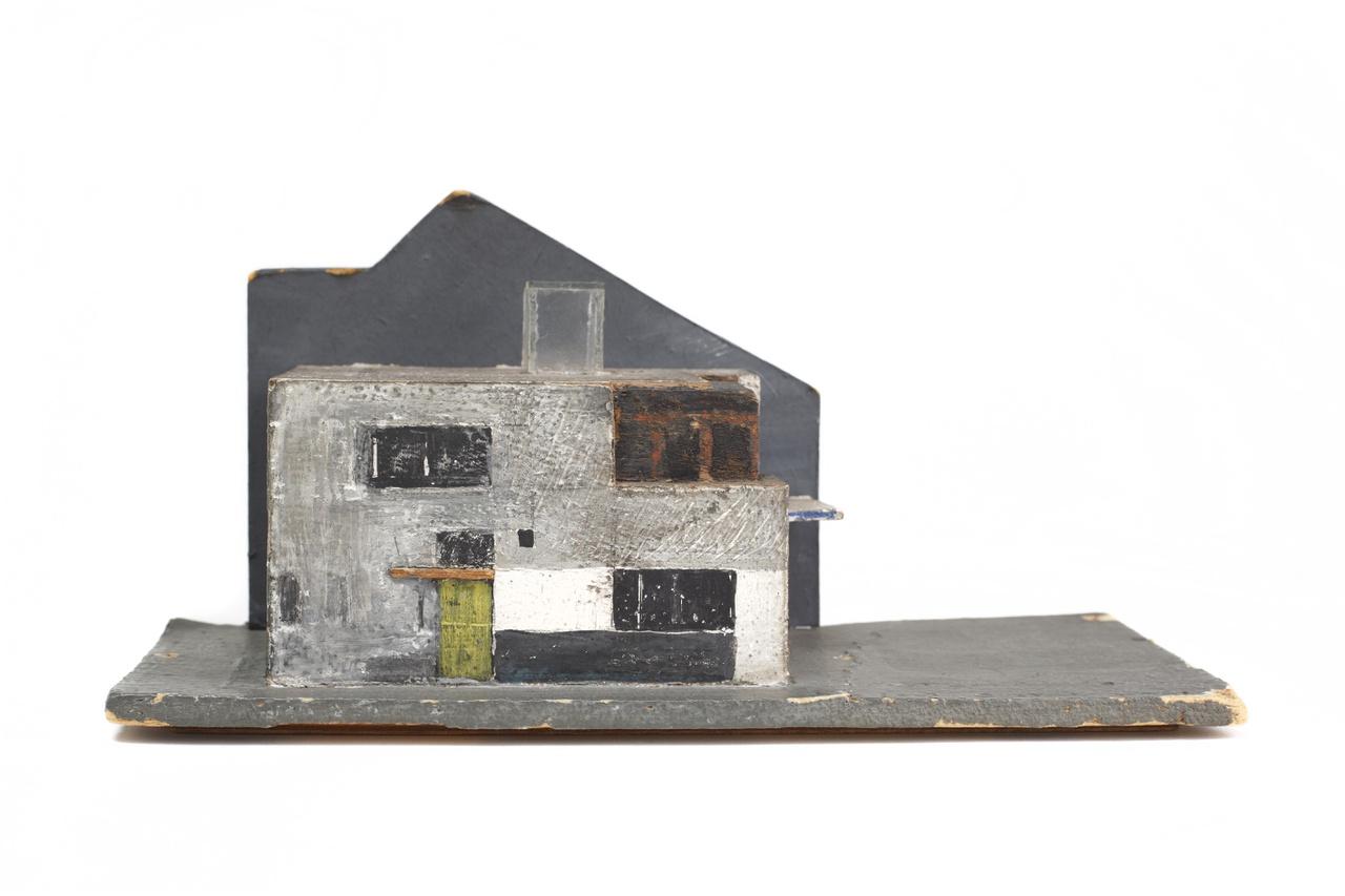 Schetsmodel van het Rietveld Schröder Huis