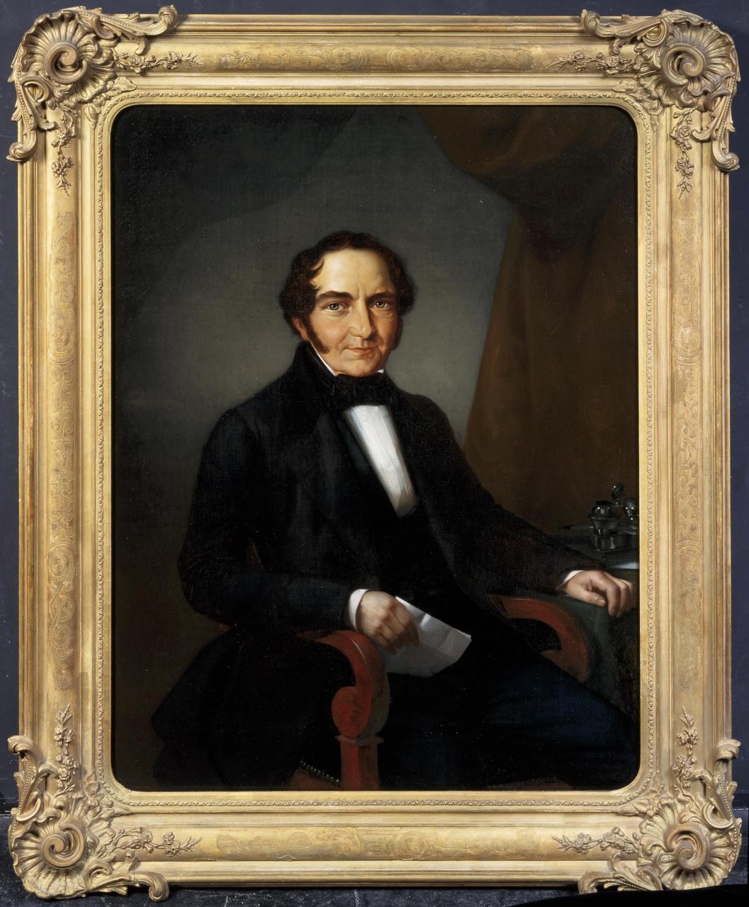 Portret van Michael Anton Sinkel (1785-1848)