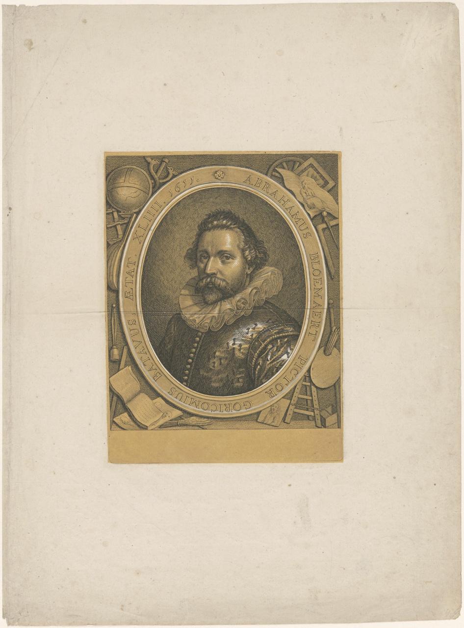 Portret van Abraham Bloemaert (1566-1651)