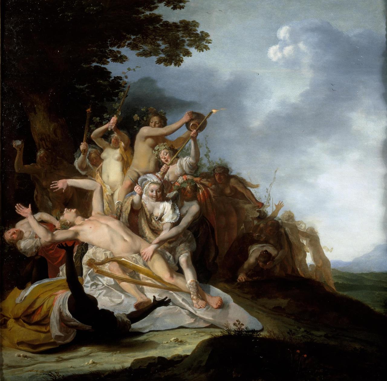De dood van Orpheus