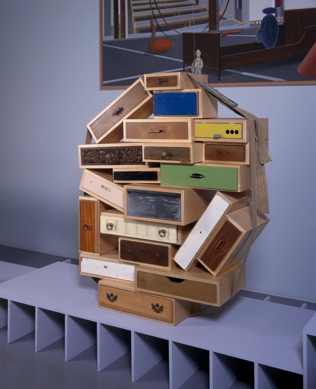 Chest of Drawers 'You can't lay down your memory'