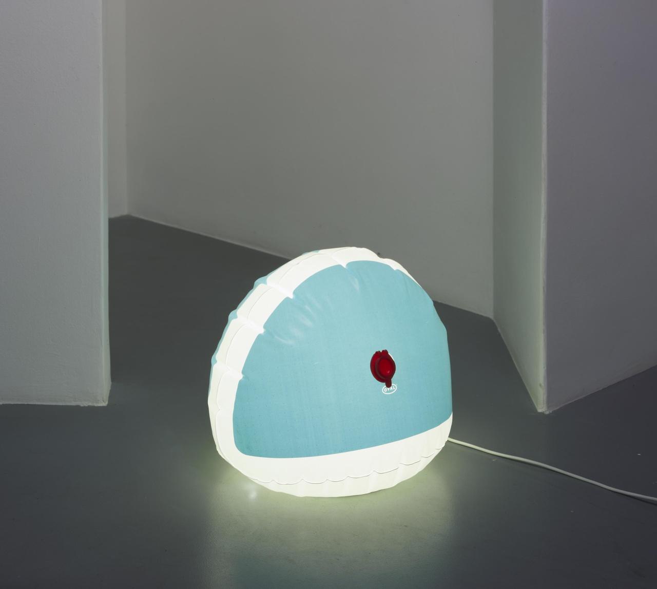 Opblaasbare vloerlamp 'Rosie' (prototype)