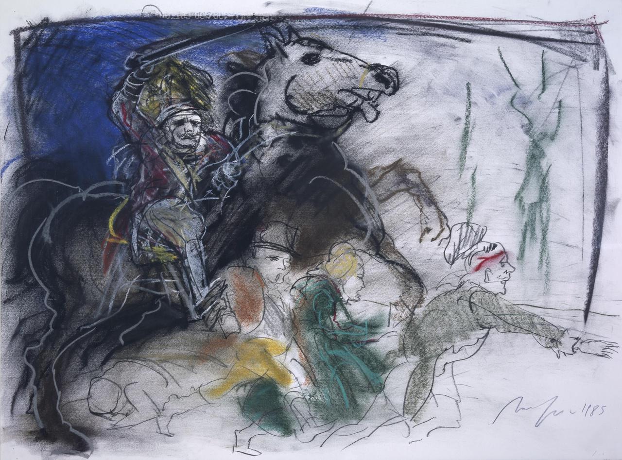 L'attaque des cavaliers étrangers