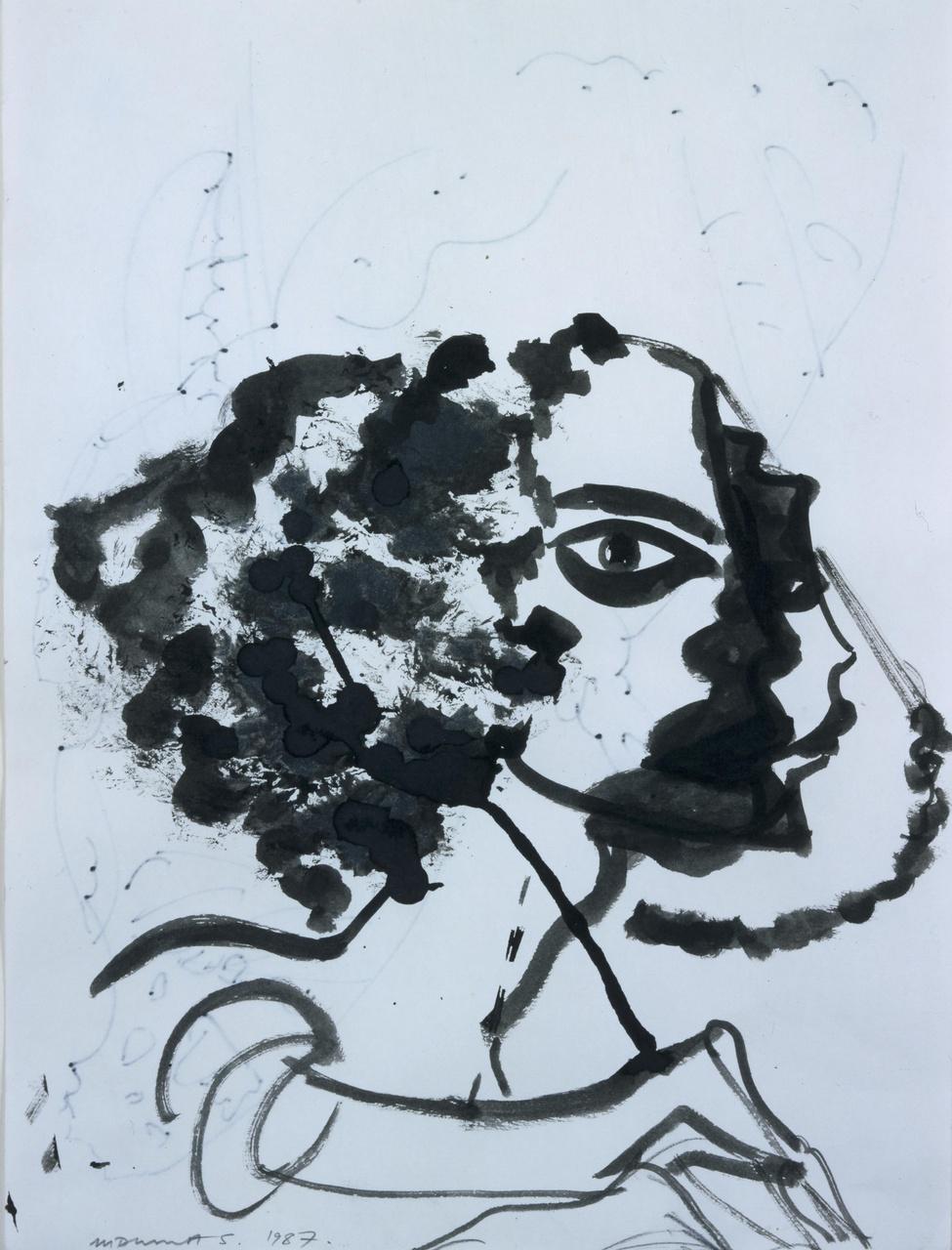Portret van Hoos Blotkamp