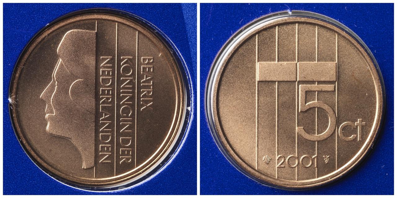 5 cent, Koninkrijk der Nederlanden