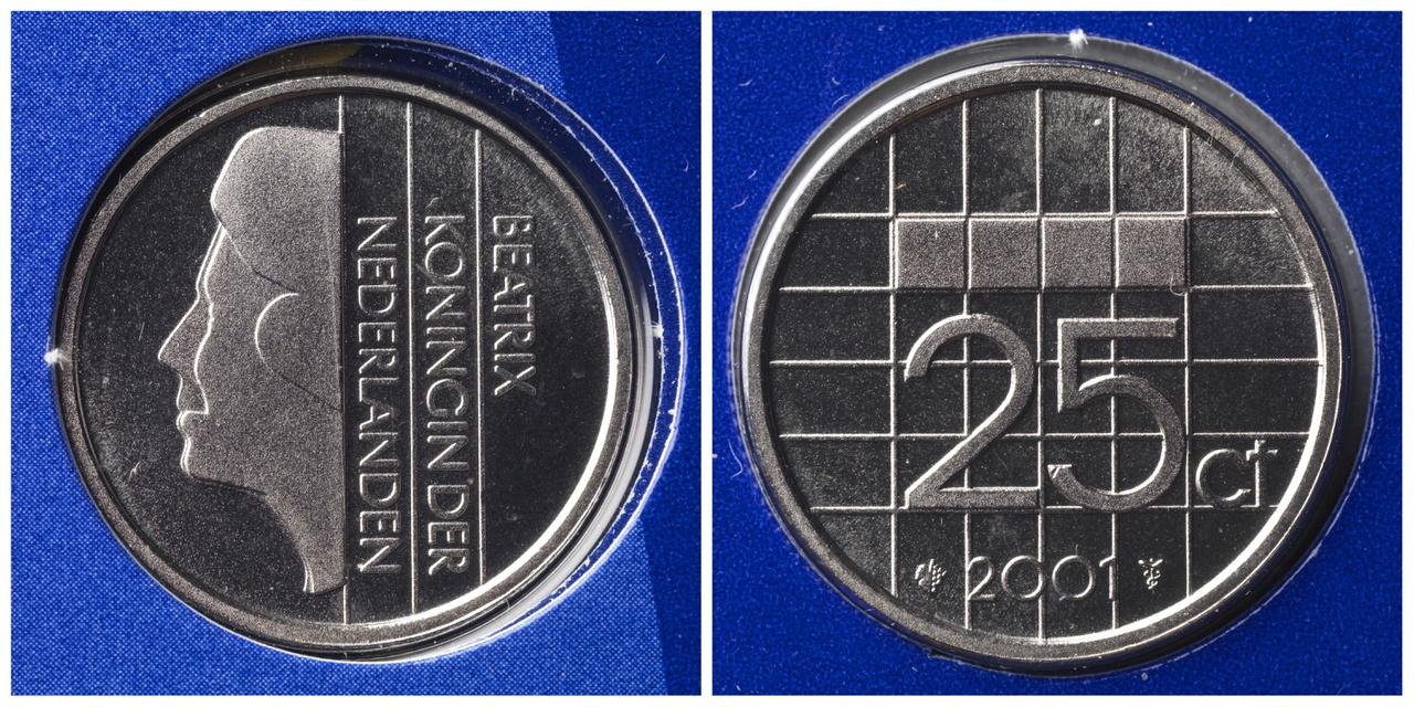 25 cent, Koninkrijk der Nederlanden