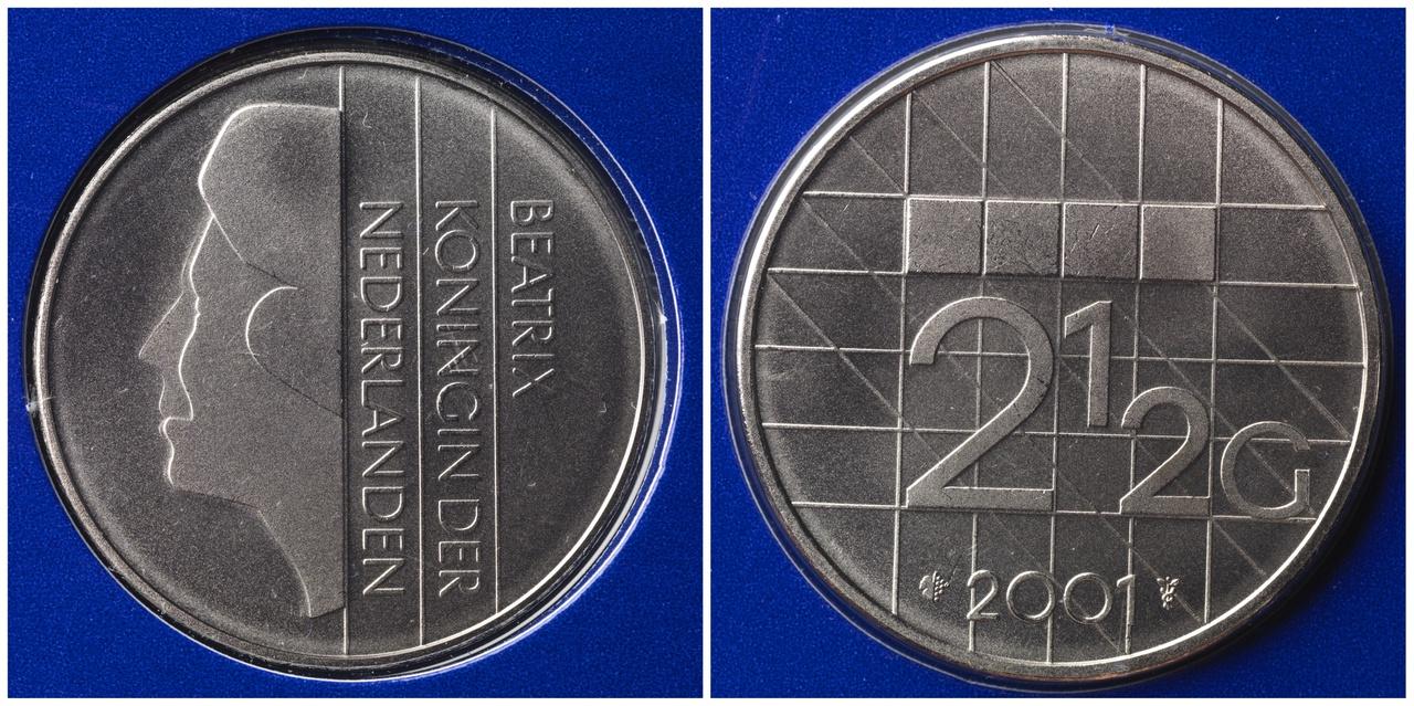 2½ gulden, Koninkrijk der Nederlanden