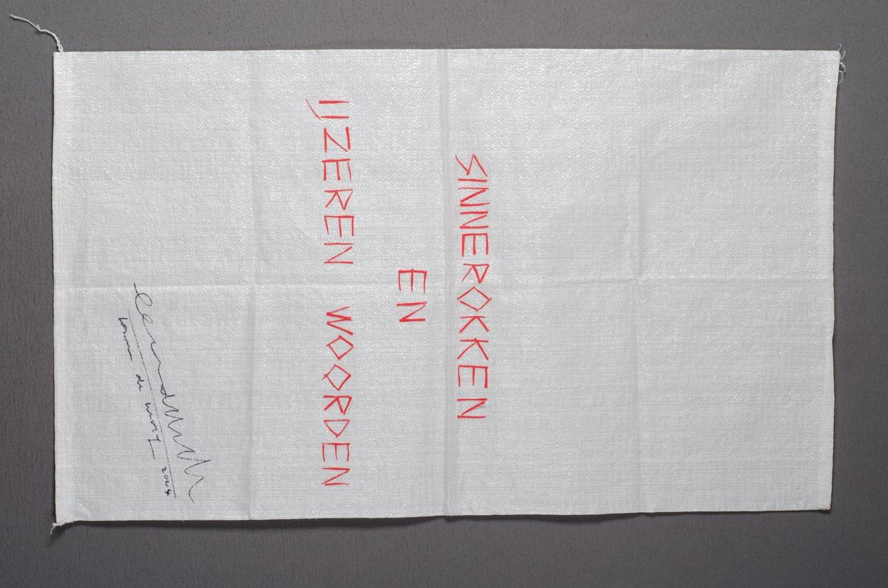 zak behorend bij rok (uit het project 'Sinnerokken en IJzeren woorden')