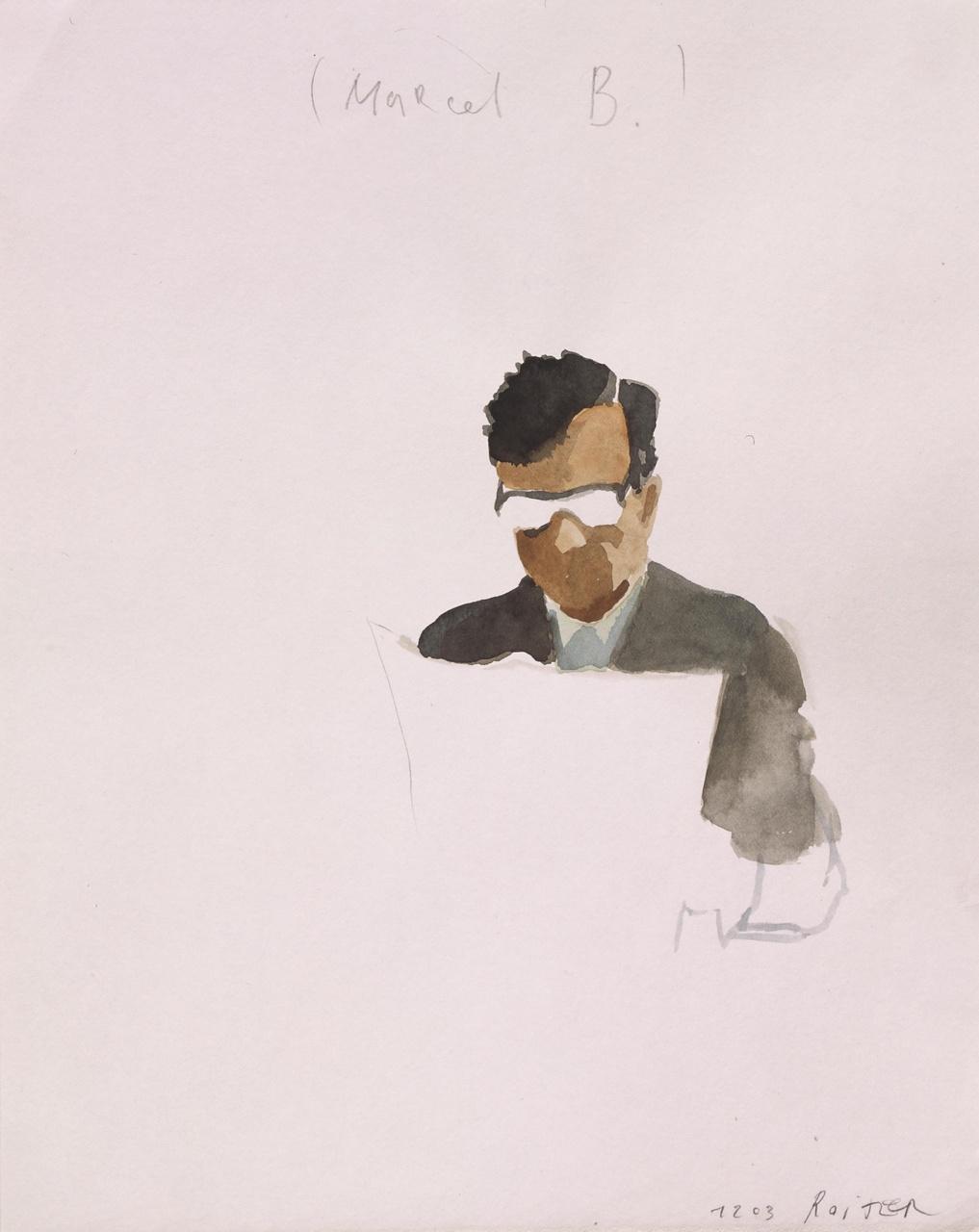 Marcel B.(Artist at work)