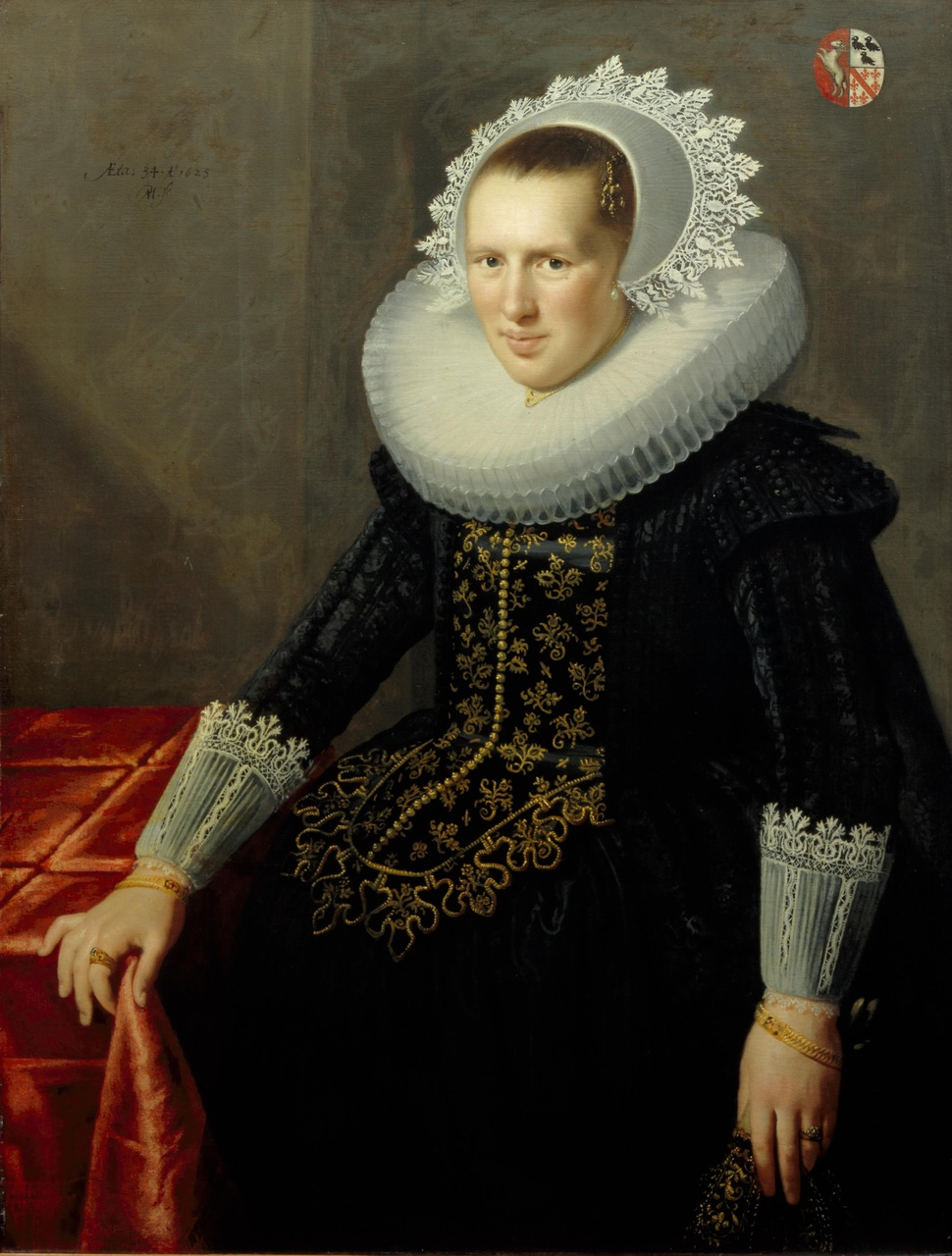 Portret van Anna Ram-Strick (1591-1637)