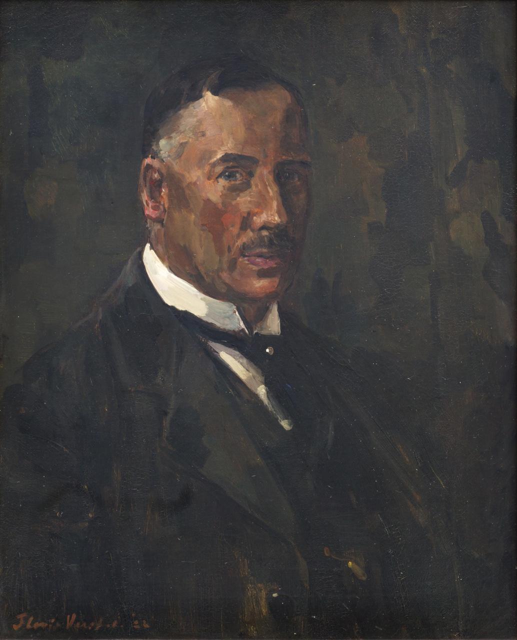 Portret Dr Ir George Willem van Heukelom (1860 - 1952)