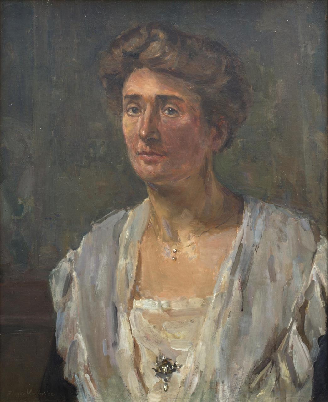 Portret Henriëtte van Heukelom-van den Brandeler (1884-1985)