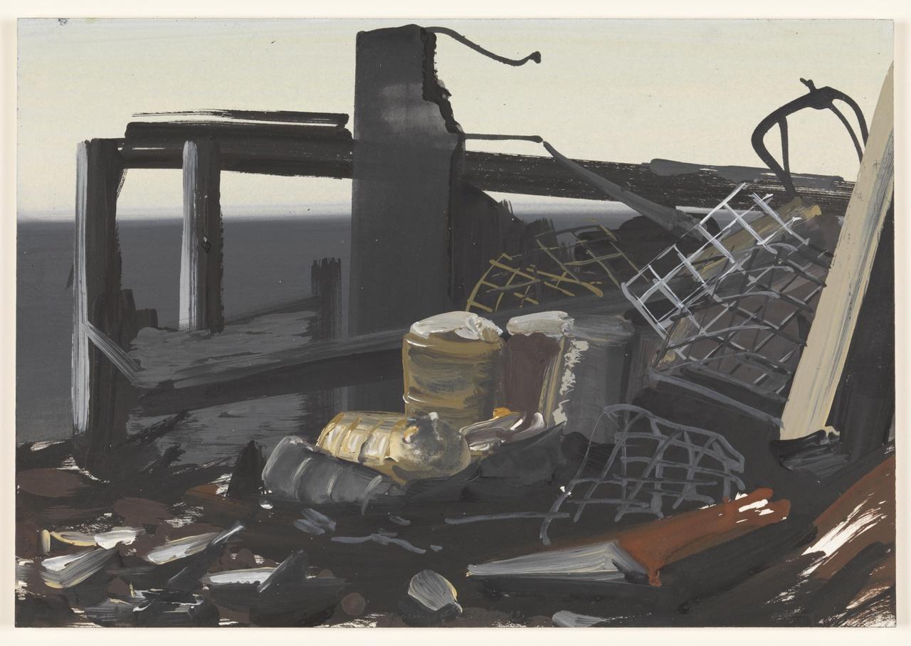 vuur 7/3/2012 (reeks: World Stress Painting, 2009-)