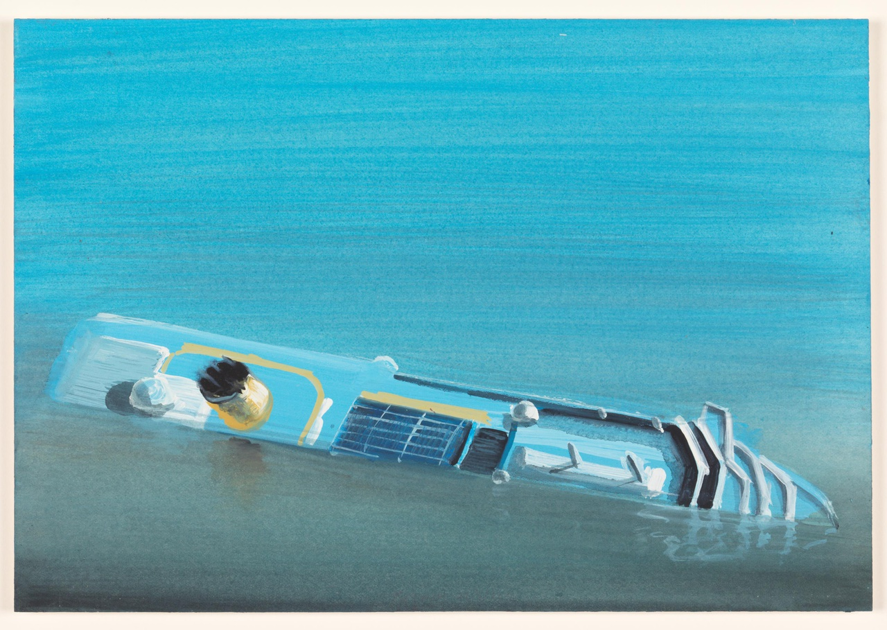 water 22/3/2012 (reeks: World Stress Painting, 2009-)