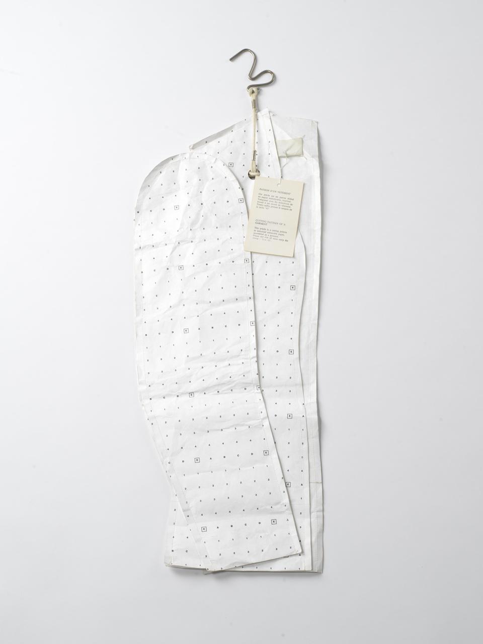 patroon damesjasje Flat Garment 1997-1998