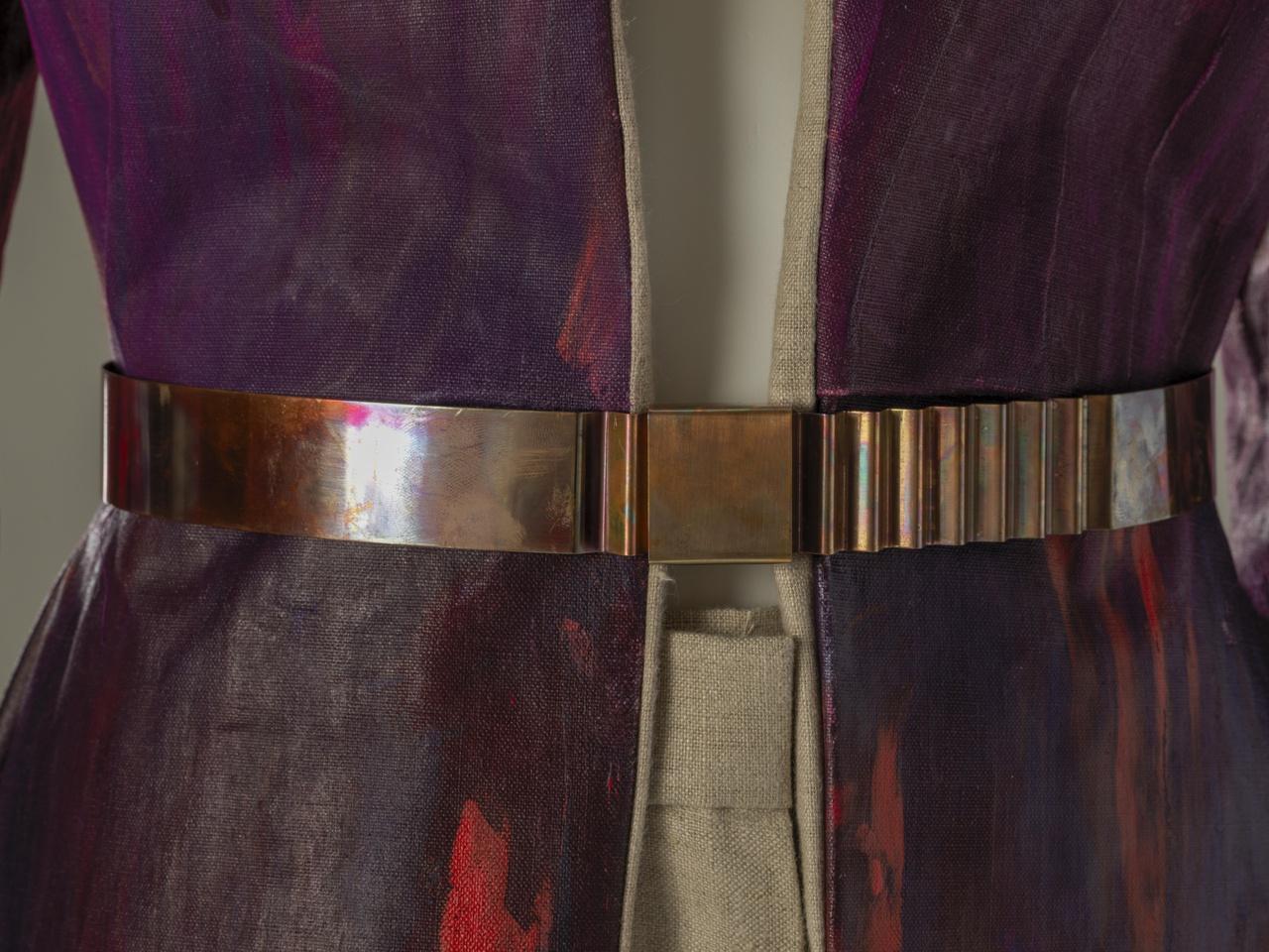 ceintuur behorende bij Painting Robe-Manteau uit de collectie Complementair