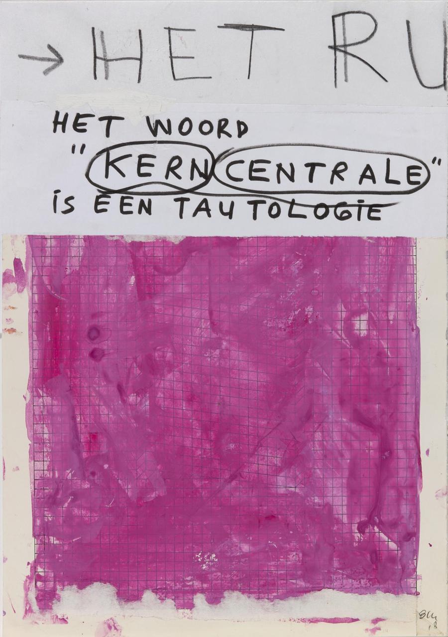 Untitled (Het woord Kerncentrale is een tautologie)