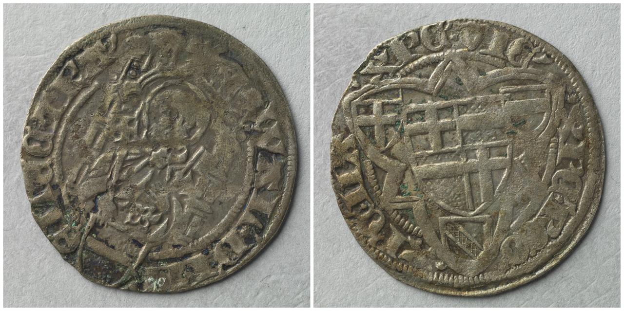 Groot [raderalbus], bisschop (elect) Walraven van Meurs (1433-1455)