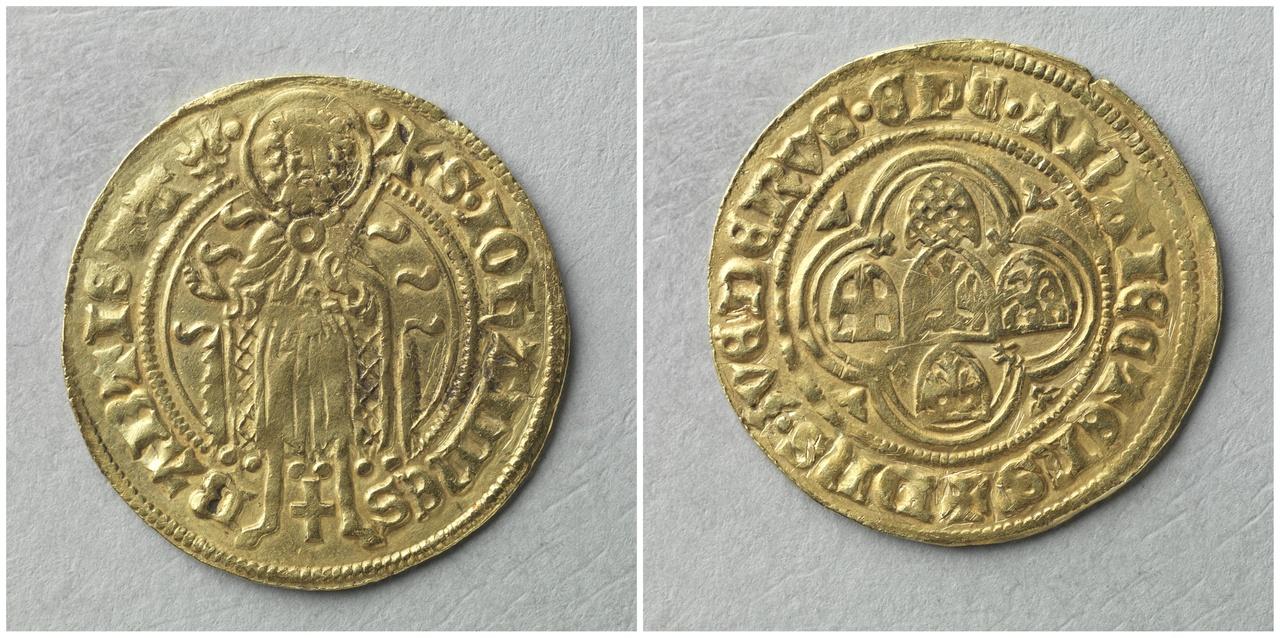 Sint Jansgulden, bisschop Zweder van Kuilenburg (1423-1433)