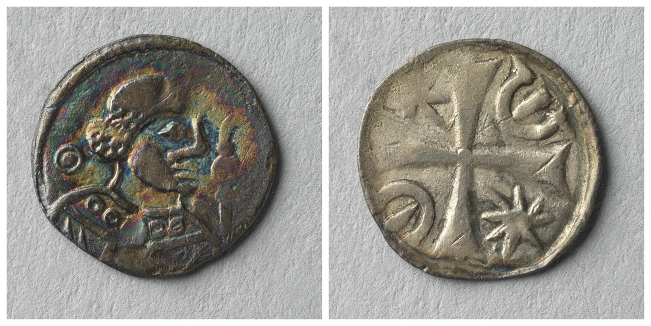 Obool, bisschop Boudewijn II van Holland (1178-1196)