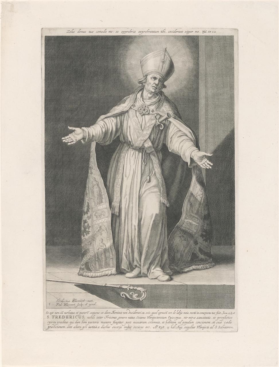 Heilige Fredericus; de aartsbisschoppen en bisschoppen van Utrecht
