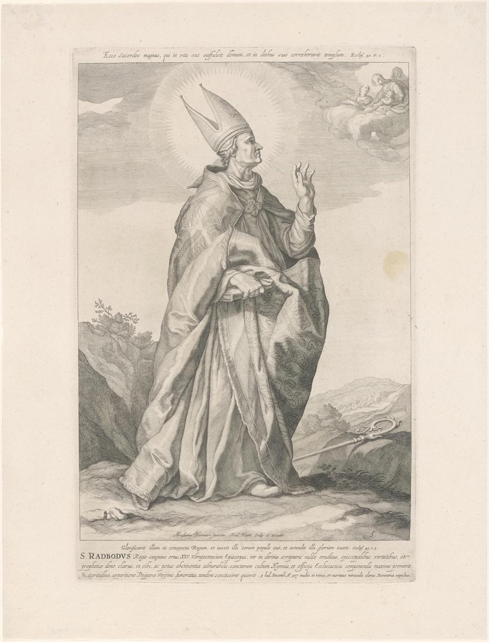 Heilige Radboud; de aartsbisschoppen en bisschoppen van Utrecht