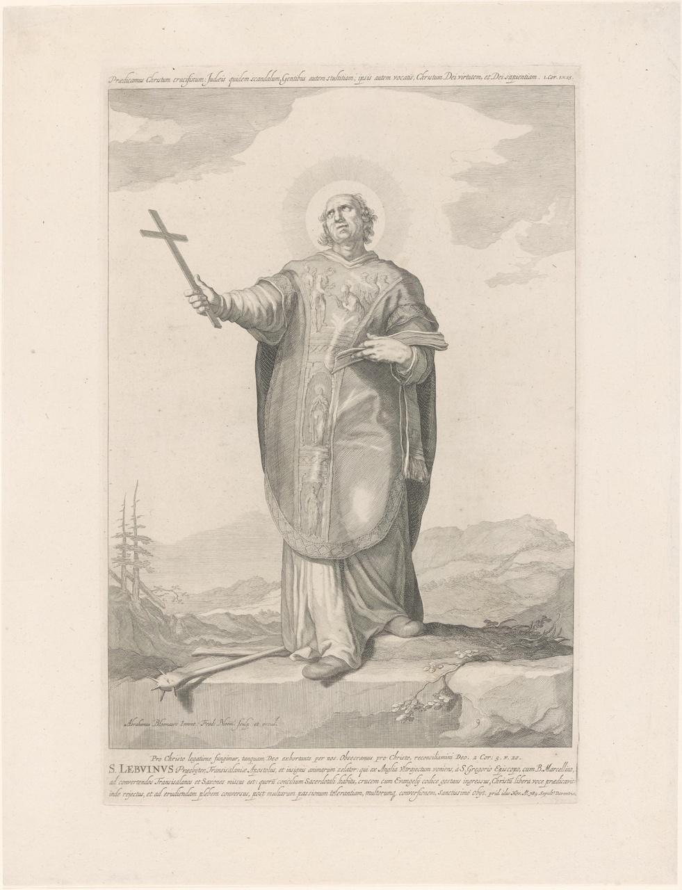 Heilige Lebuinus; de aartsbisschoppen en bisschoppen van Utrecht