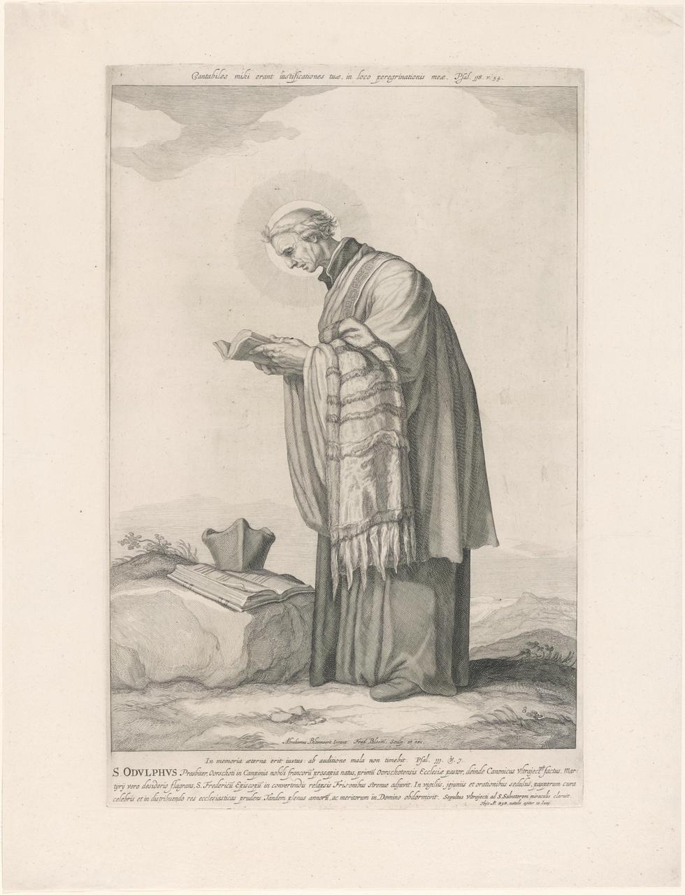 Heilige Odulphus; de aartsbisschoppen en bisschoppen van Utrecht