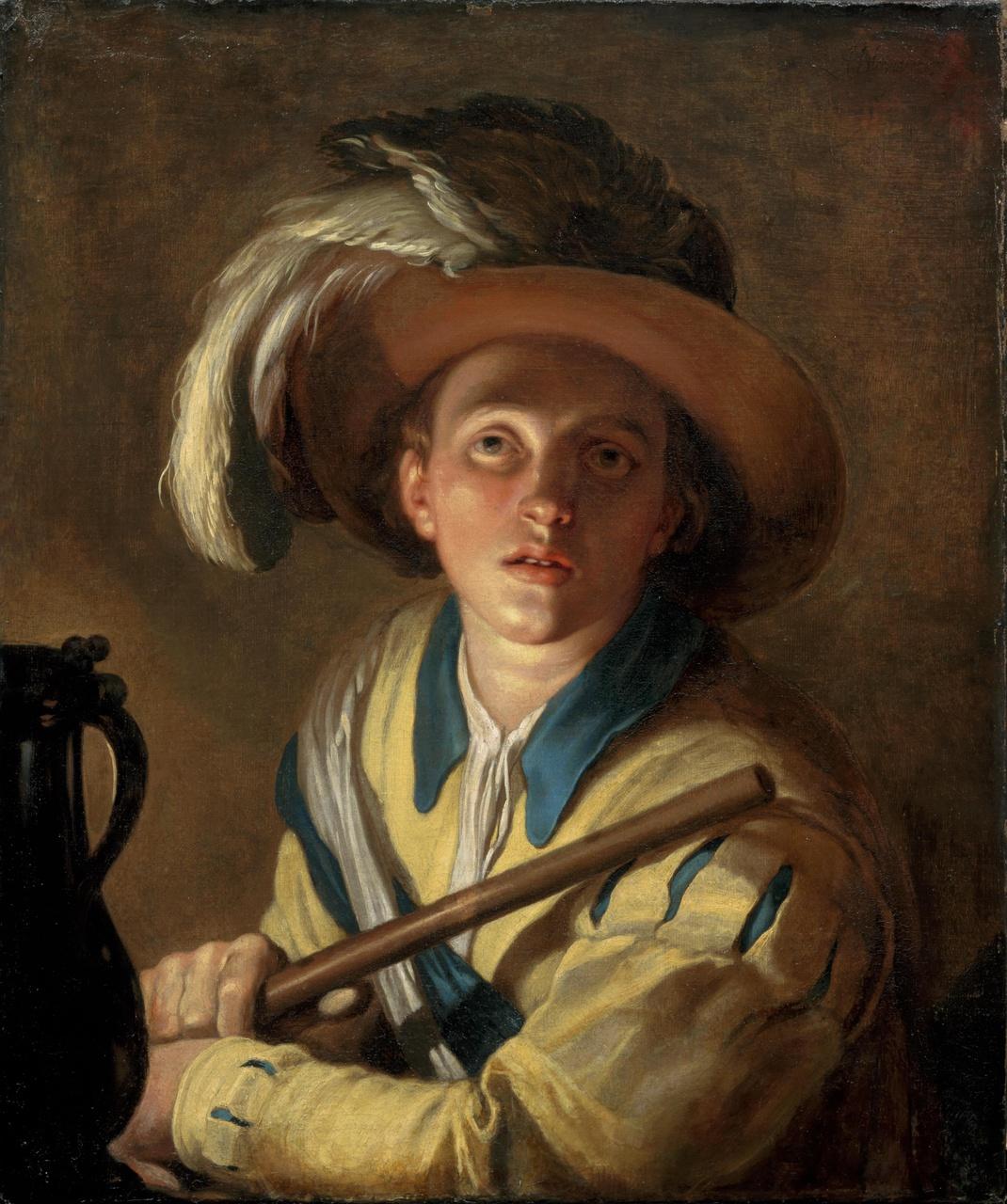 De fluitspeler