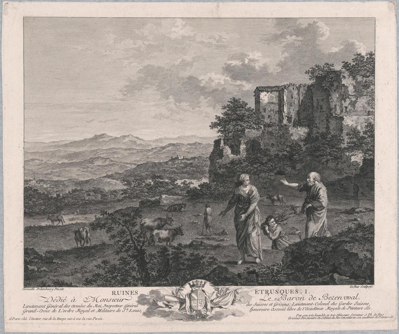 Etruskische Ruïnes I: De verstoting van Hagar