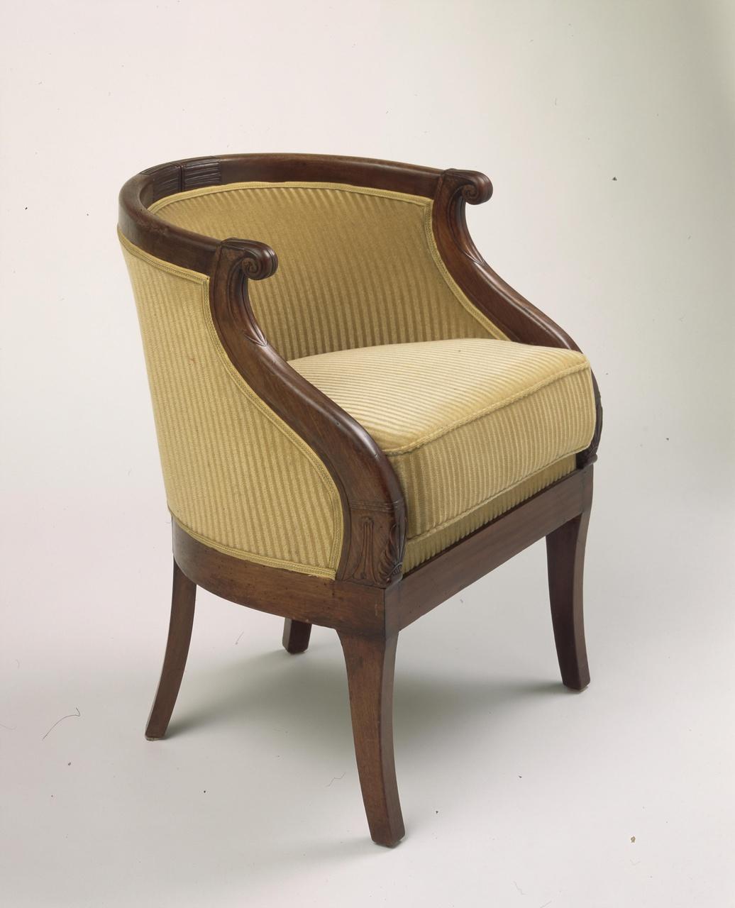 Bureaustoel (fauteuil en gondole)