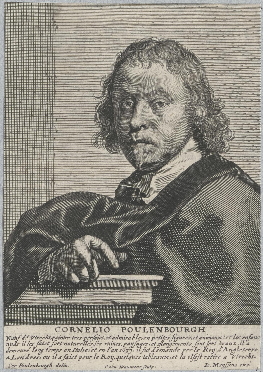 Portret van Cornelis van Poelenburch (ca.1593-1667)