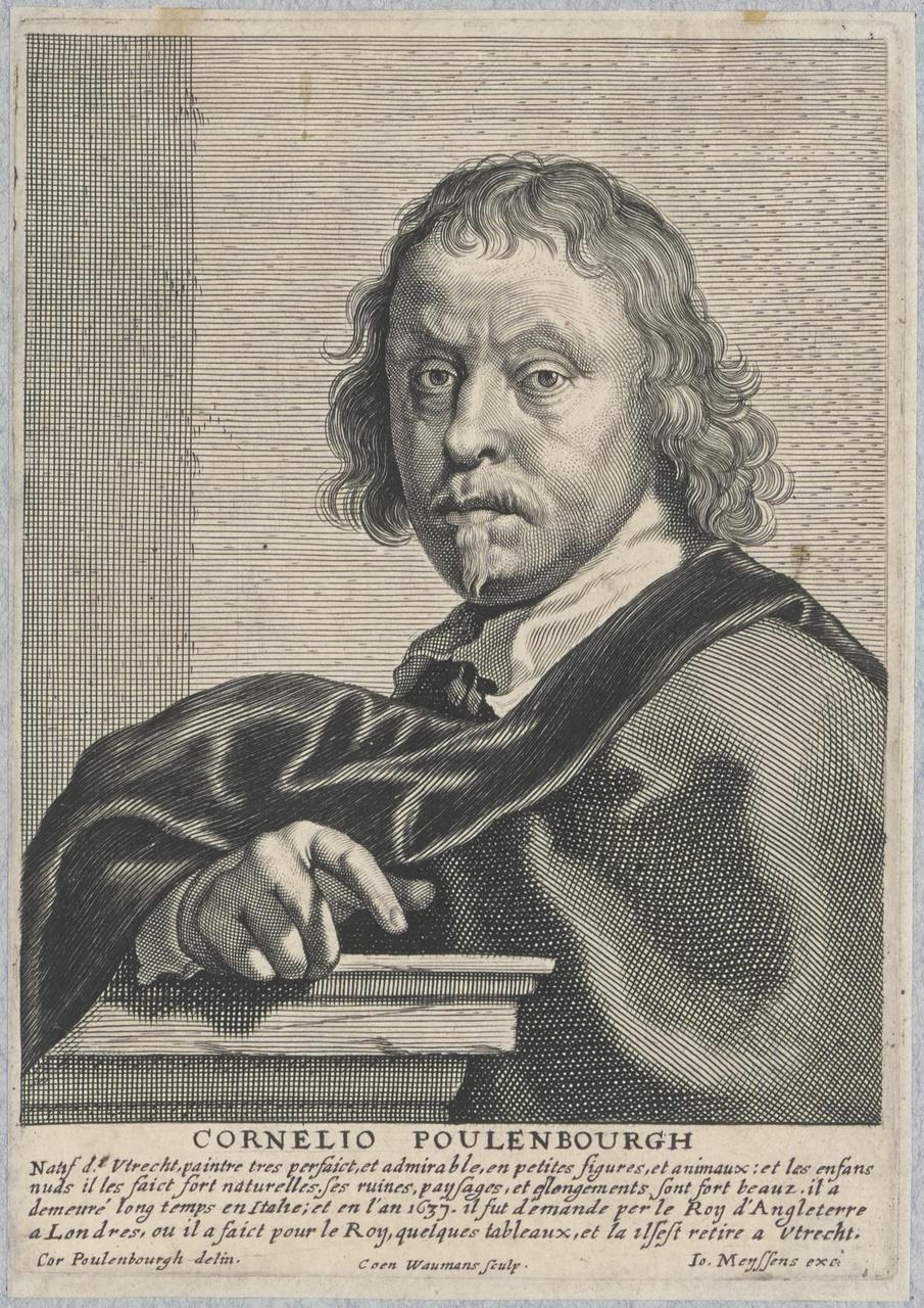 Portret van Cornelis van Poelenburch (1594/95-1667)