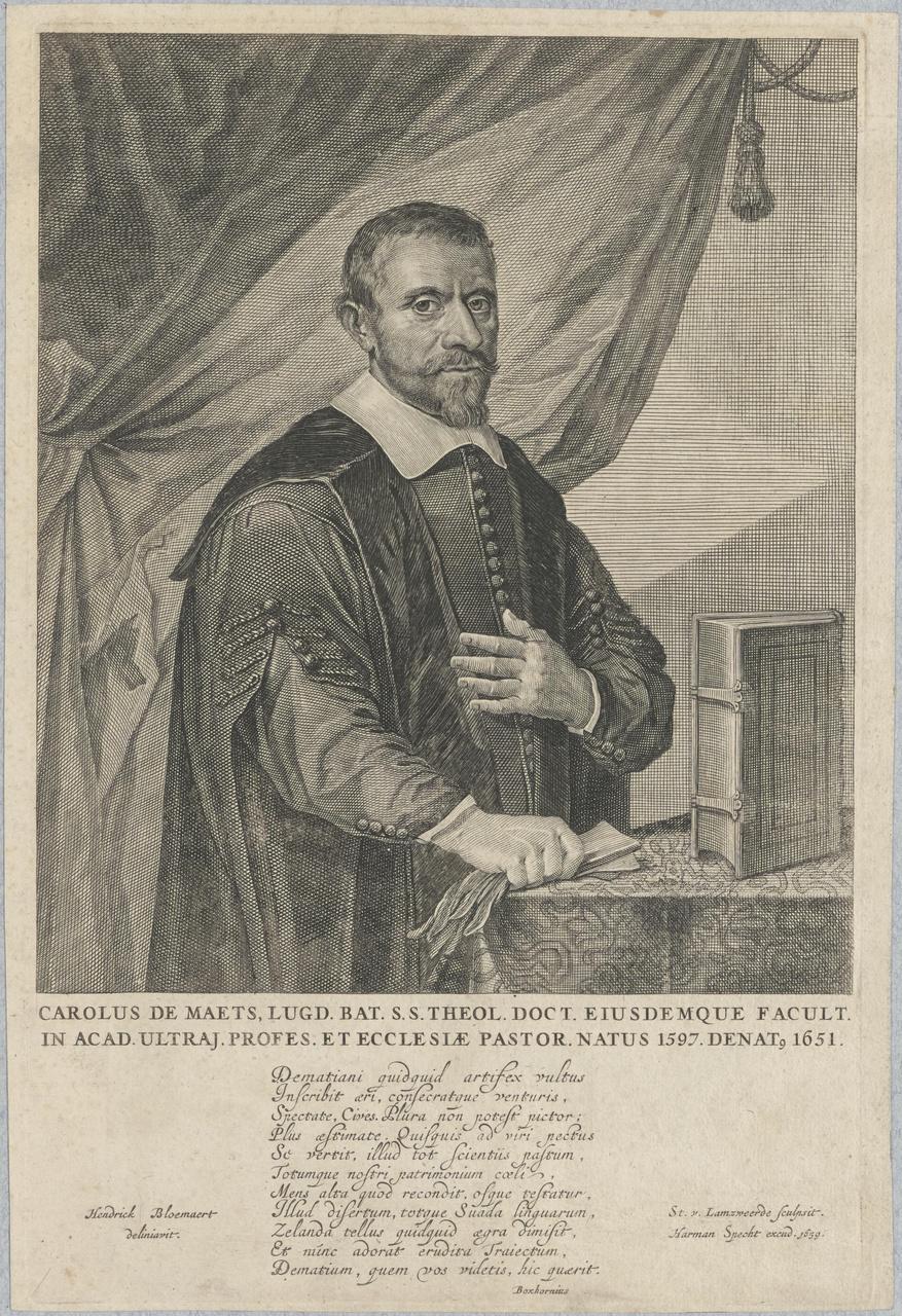 Portret van Carel De Maets (1597-1651)