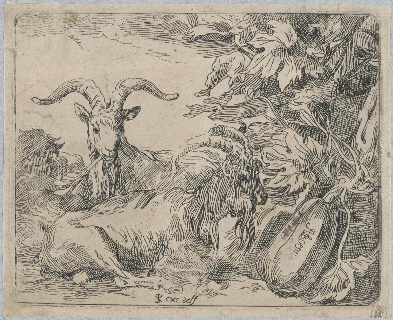 De aanbidding van het Kind door Maria en twee engelen