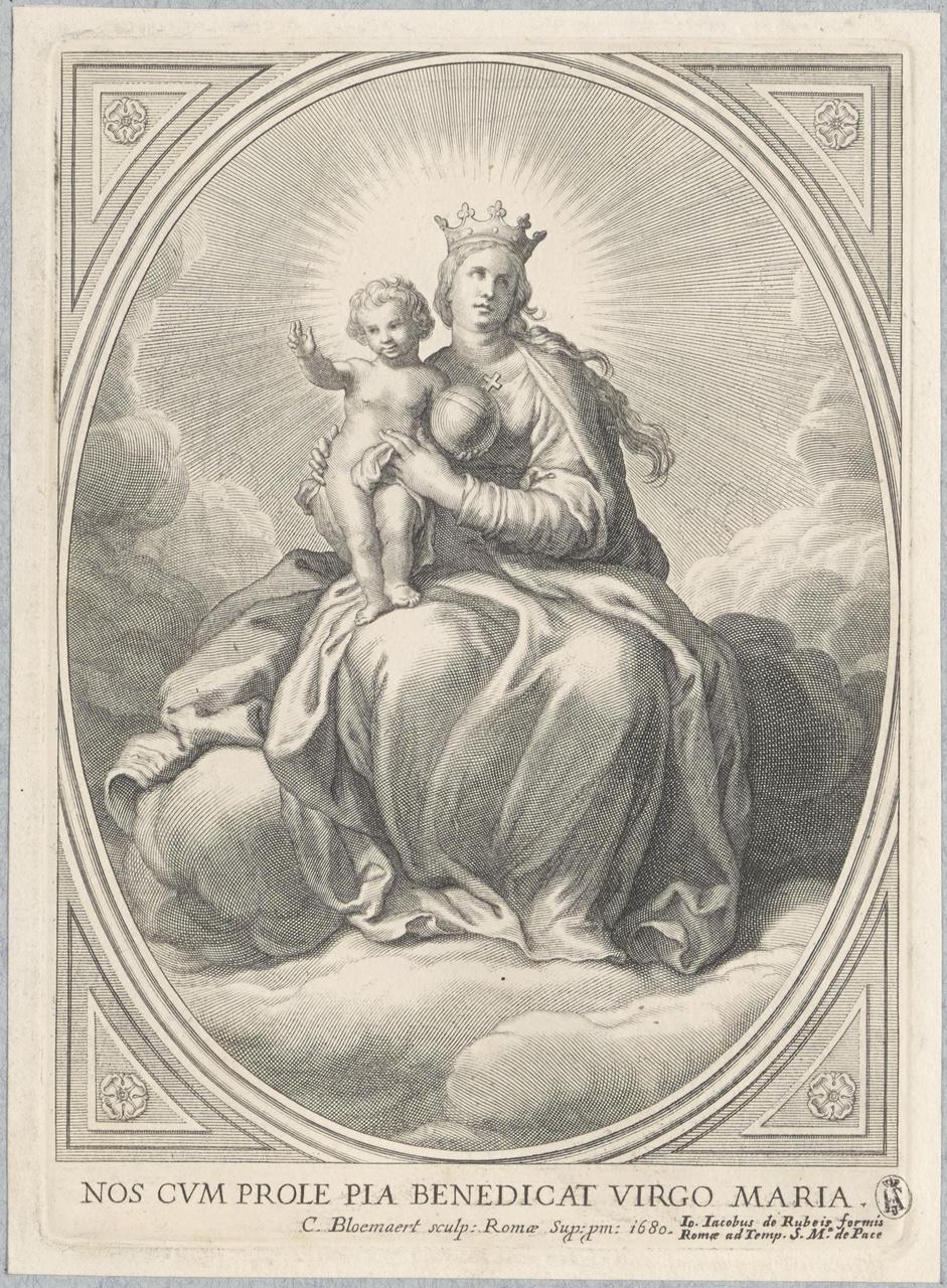 De Heilige Maagd met het Christuskind