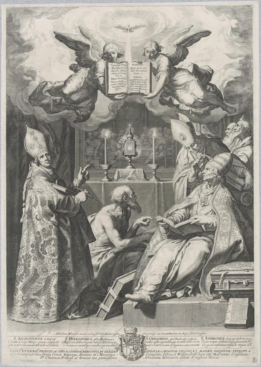 De vier kerkvaders