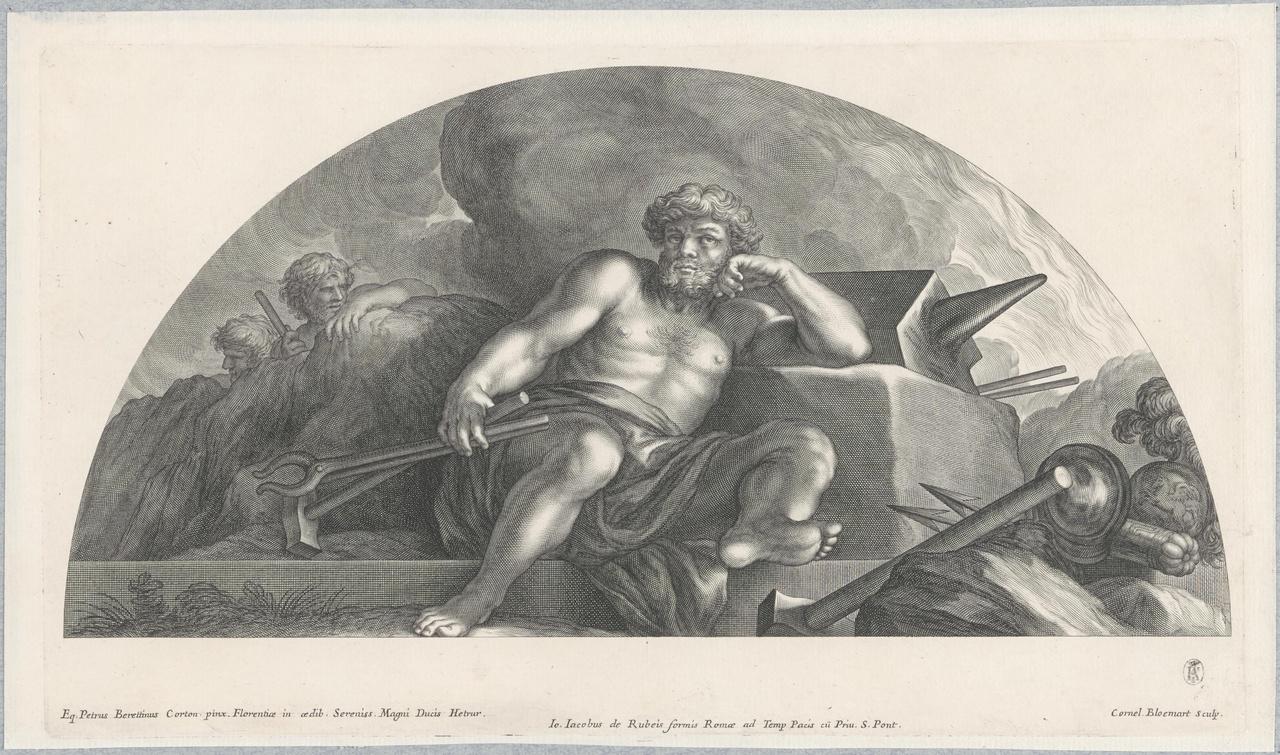 Vulcanus bij het aambeeld