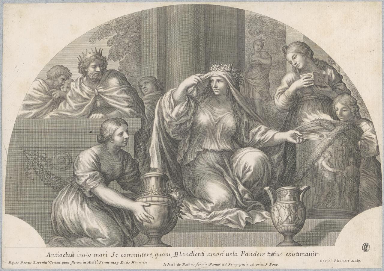 Antiochus en de priesteres van Diana