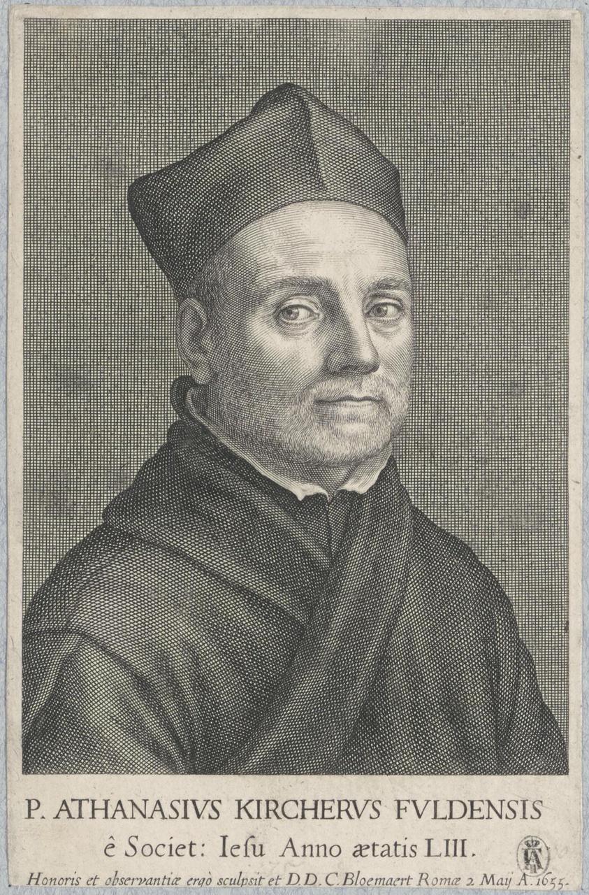 Portret van Athanasius Kircher (1602-1680)