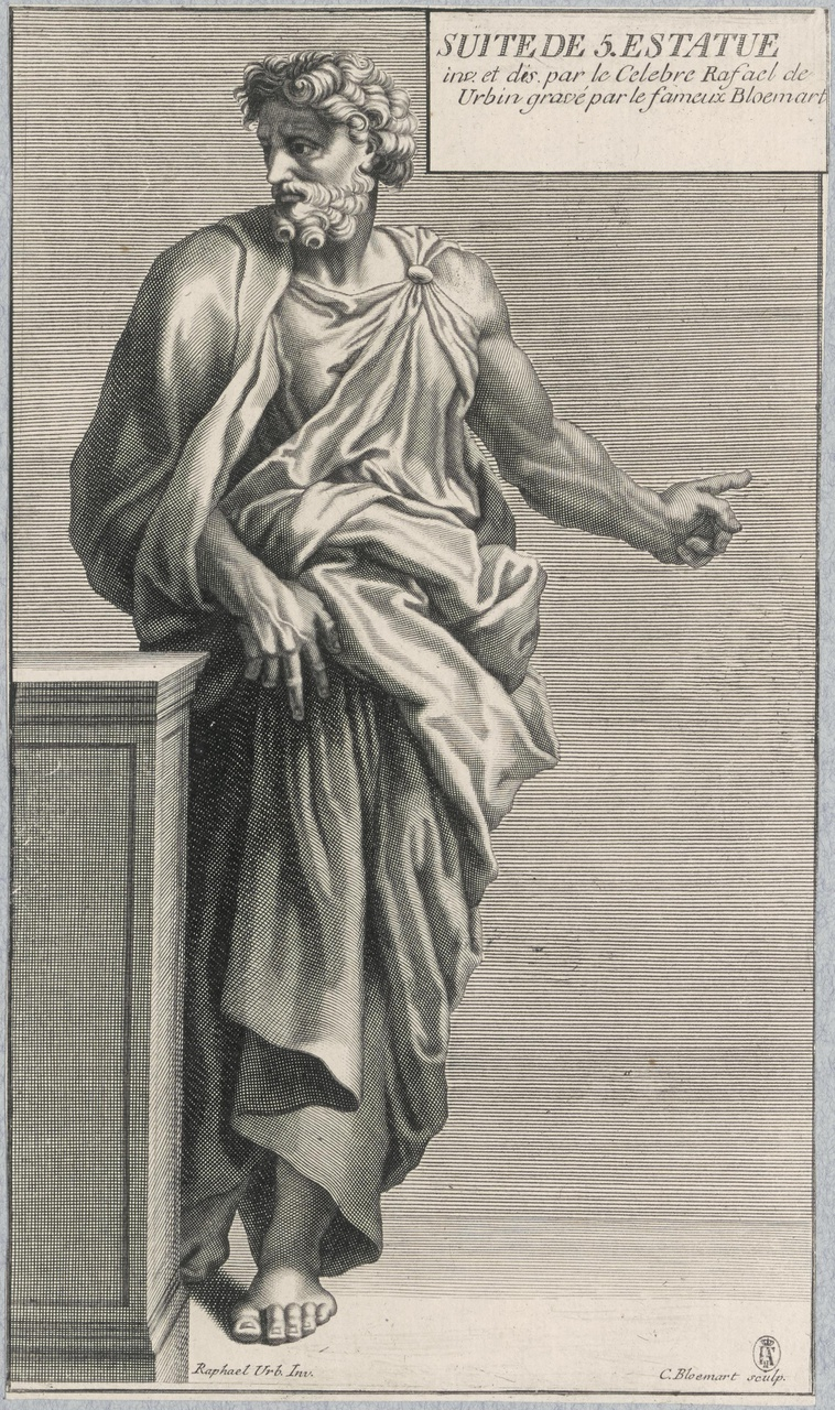 Aeneas met zijn vader Anchises op de schouders