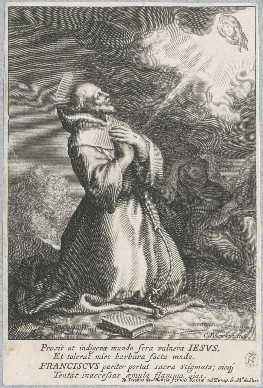 De stigmatisering van de heilige Franciscus