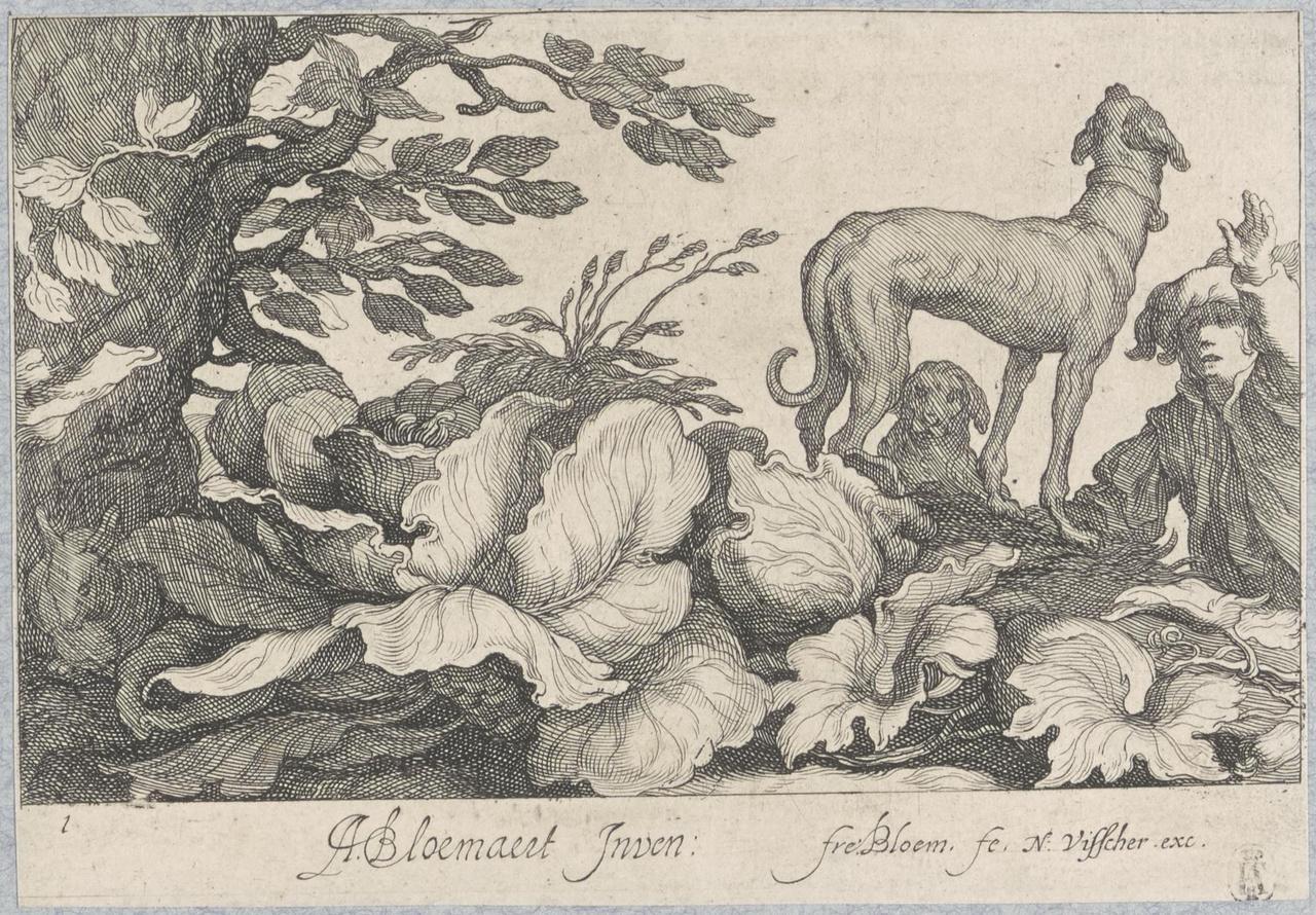 Jongen met twee honden (titelblad)