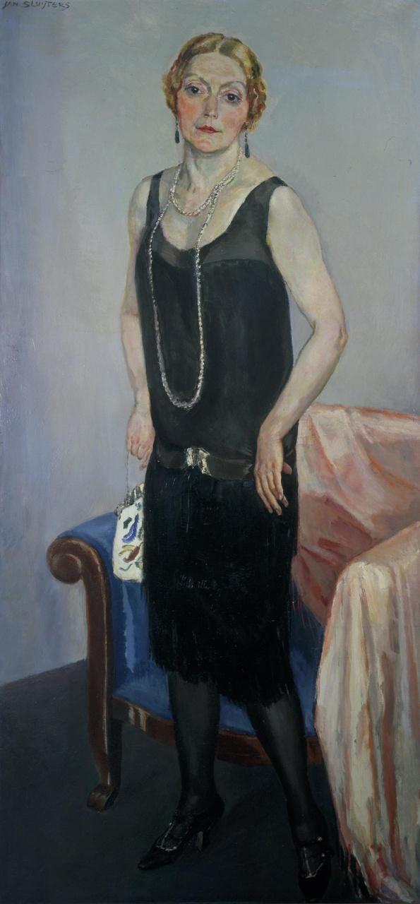 Portret van mevrouw Claire Marie van der Vuurst de Vries
