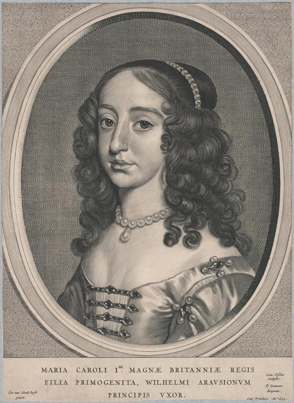 Portret van Maria Stuart (1631-1660)